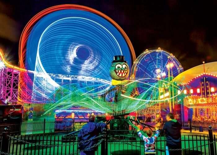 Spectacular rides at Luna Park