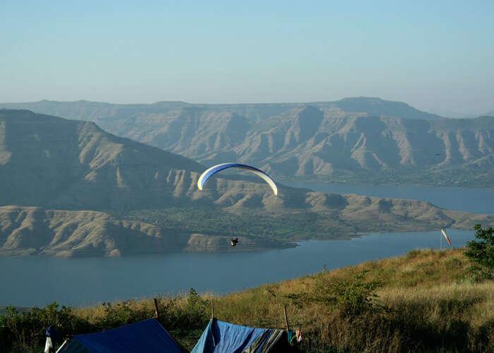 You can try paragliding at Panchgani