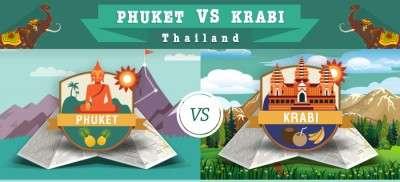 Phuket vs Krabi