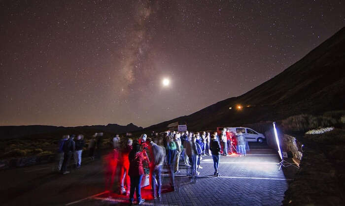 El Teide is the best place to visit in Spain for stargazing