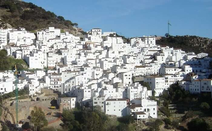 The White Towns of Andalucia are among the popular Spain holiday destinations.