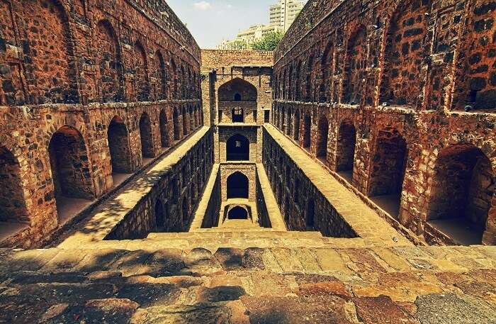 The not so haunted Agrasen ki Baoli is a surprise amidst the concrete jungle of Connaught Pace in Delhi