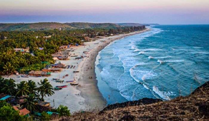 Arambol Beach – One of the famous beaches in Goa for families and budget vacations