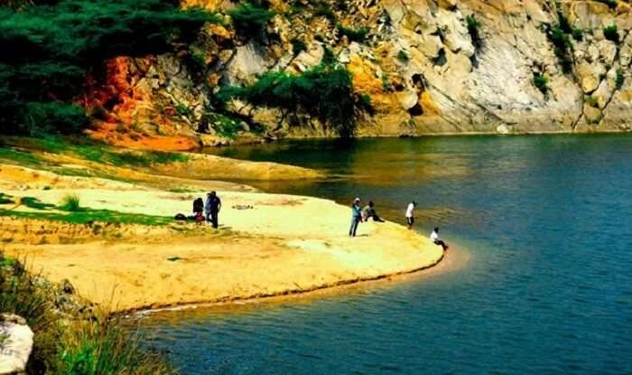 Bharadwaj lake in Asola is a pristine hideaway from the rush of the city