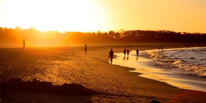 Mesmerising sunset at Byron Beach