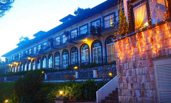 An outside view of the Cameron Highlands Resort