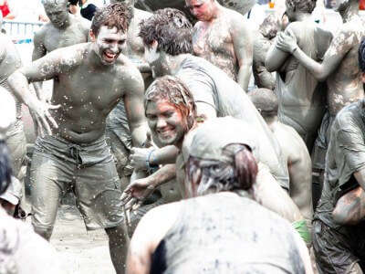 Crazy mud parties at Nashik – Definitely a fun activity in Mumbai for people who are still a child at heart