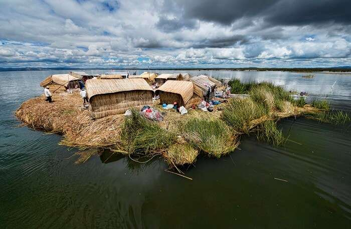 Floating Island in Peru
