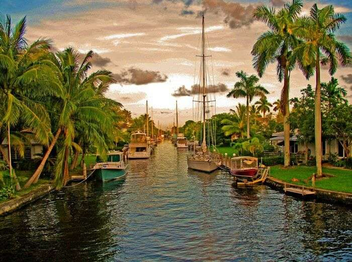 The stunning canal city of Ft. Lauderdale in Florida