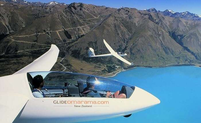 Gliding is another very interesting experience to go for while in New Zealand