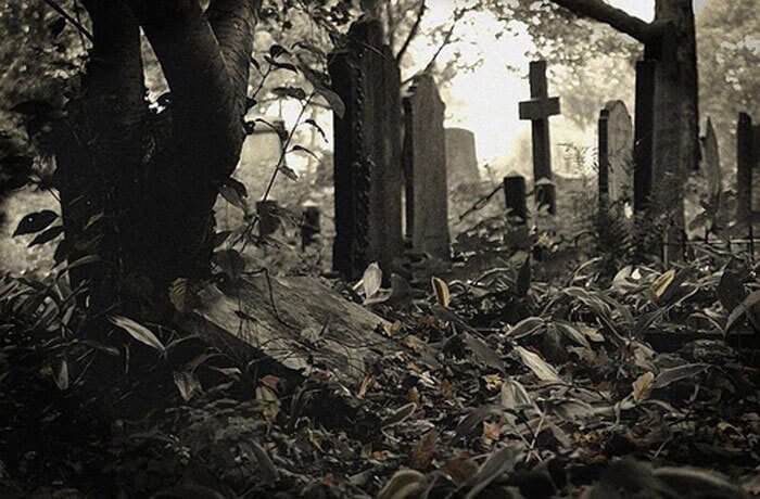 Graveyard on Road 12 is one of the most haunted places in Hyderabad