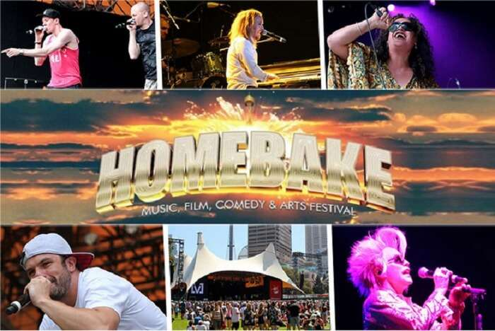 Official poster of Homebake Festival