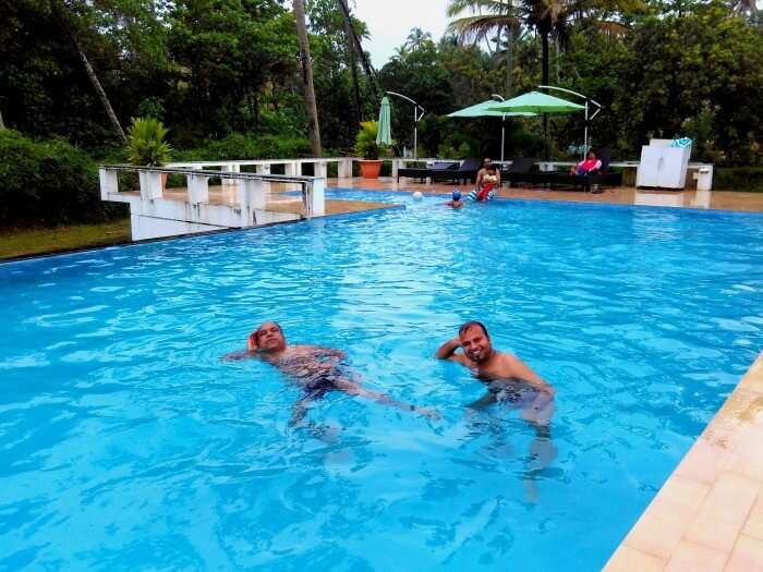 Amazing swimming pool at Turtle Beach Resort