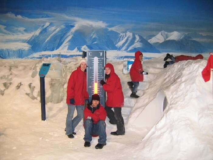 The international Antarctic center provides for the fun and thrill of Antarctic