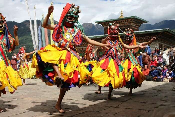 Jambay Lhakhang Drup is one the best festivals in Bhutan