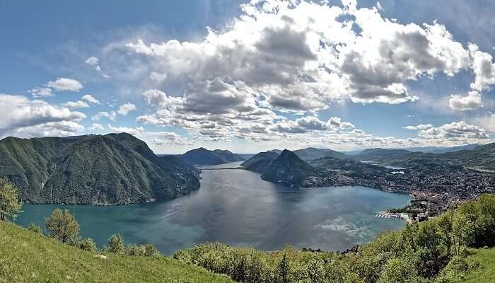 Lake Lugano And Ticino