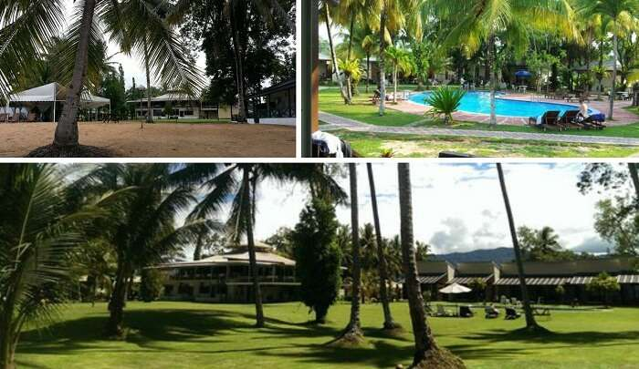 Many views of the Langkah Syabas Resort in Kota Kinabalu