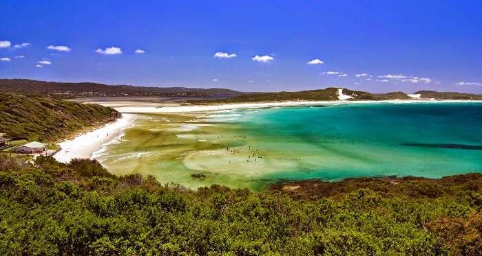 The scenic Mandalay beach is one of the major attractions in Western Australia