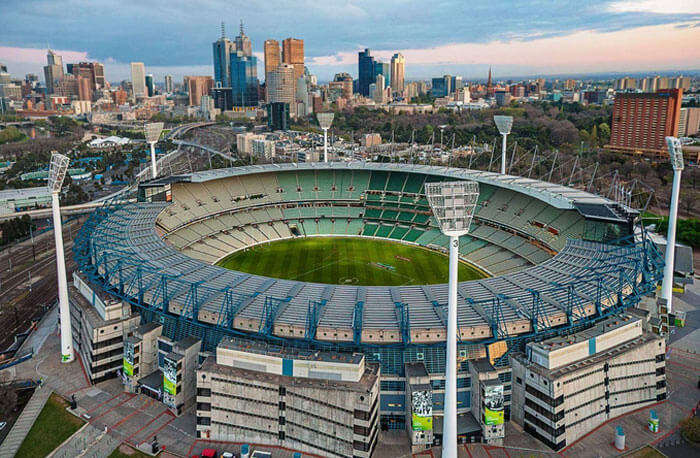 Melbourne Cricket Ground is one of the fun places in Melbourne for sports lovers