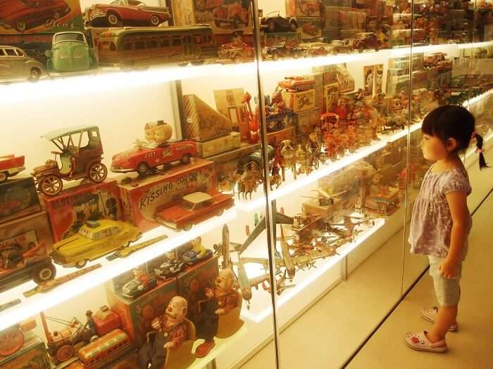 Various exhibits at Mint Museum of Toys – the top amongst the interesting historical places in India