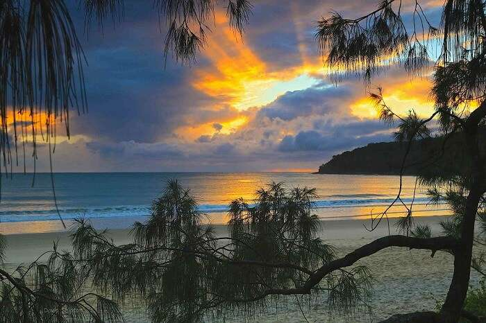 The Noosa Beach at the Sunshine Coast is a tempting name among the beaches in Australia
