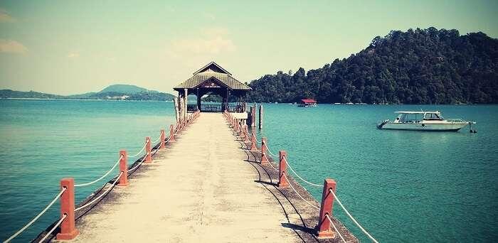 A resort at the Pangkor Island