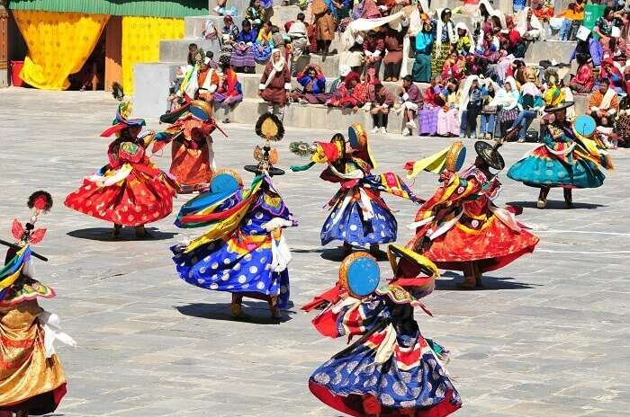 Paro Tshechu is a festival in Bhutan with maximum number of tourists