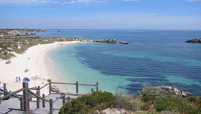 Pinky Beach, Rottnest Island