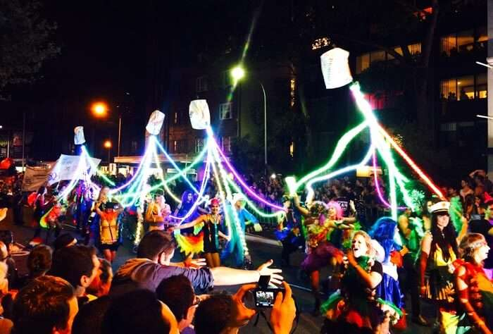 There is no other party like the gay parade in Sydney