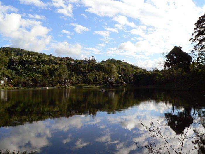 The calmness of Tamdil Lake in Mizoram