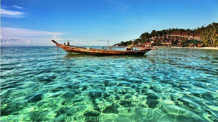 Thailand's beautiful Kho Phangan beach