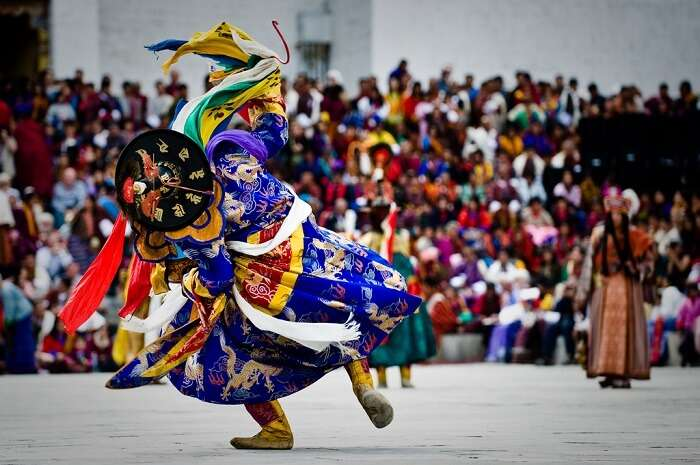 Thimphu Tsechu is the most popular festival in Bhutan
