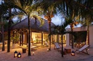 A beautiful view of the Veranda Pointe Aux Biches Hotel in Mauritius