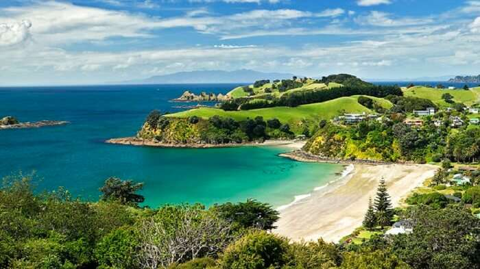 A view of one of the most romantic places in New Zealand – Waiheke Island