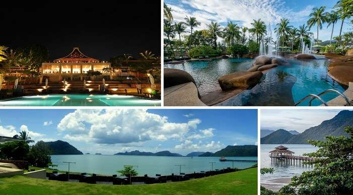 The stunning views of the Westin Langkawi Resort