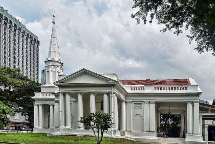 Armenian Church is the oldest church in Singapore