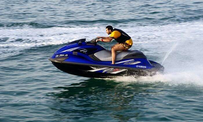 Splash your way through waters in a Blue Whale Jet Ski