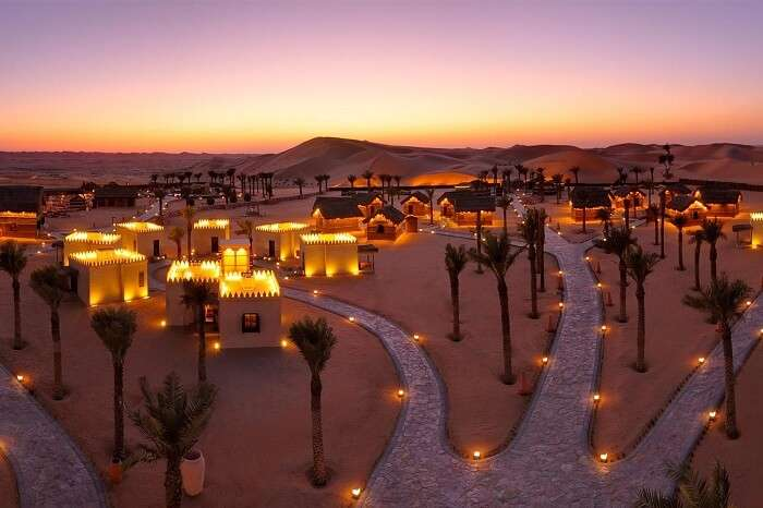 Stay in beautiful desert camps overnight for a more personal experience of the city