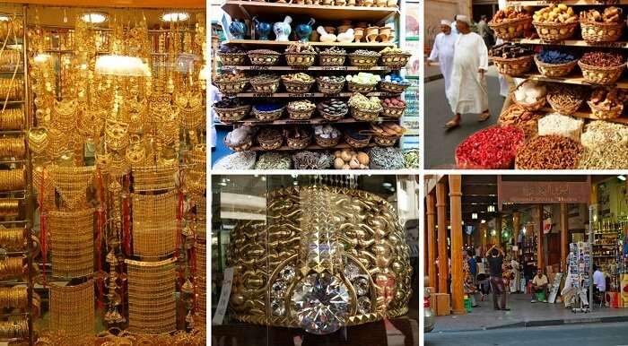 Gold and spices at the Deira Souk