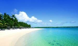 Beautiful Beach of Mauritius