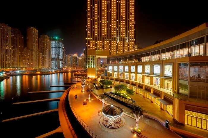 An epitome of fine luxury – Marina Mall is one of the best places to visit in Abu Dhabi.