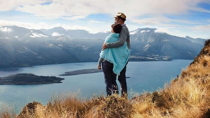 Feeling on top of the world with hil- top honeymoon in new zealand
