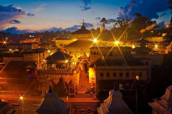 Pashupatinath Temple is among the popular Nepal tourist places