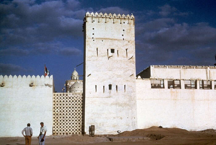 The first permanent structure and ancient residence of Al Nahyan family – Qasr al Hosn