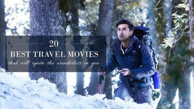 Ranbir Kapoor on a trek in Yeh Jawaani Hai Deewani