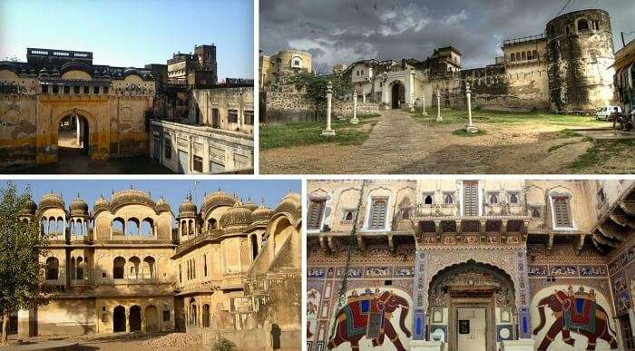 The many forts in the Shekhawati region make it a major tourist place near Delhi in winter