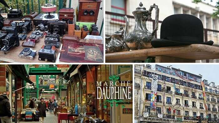 the many entertainment options for shopping in Paris