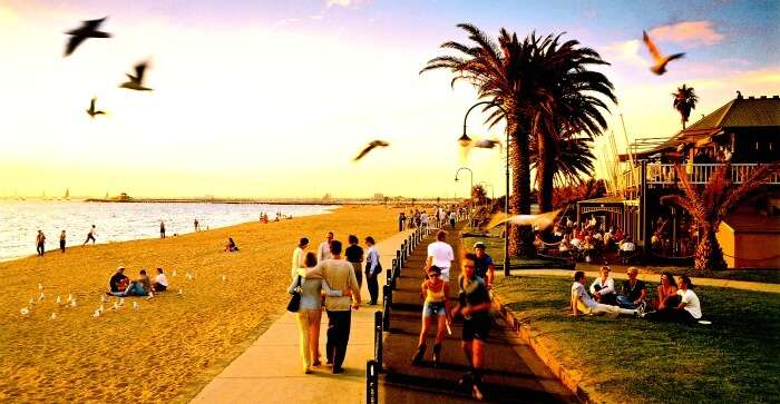 St Kilda is the free beach for every adventure in Melbourne