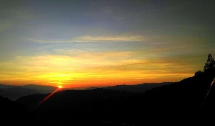 Sunset in Tumling