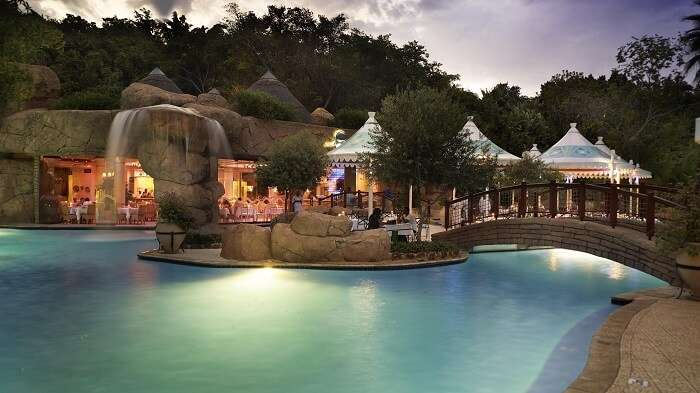 The Cabanas Sun City is one of the beautiful resorts in South Africa